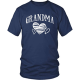 Grandparent T-Shirt Design - Grandma Heart
