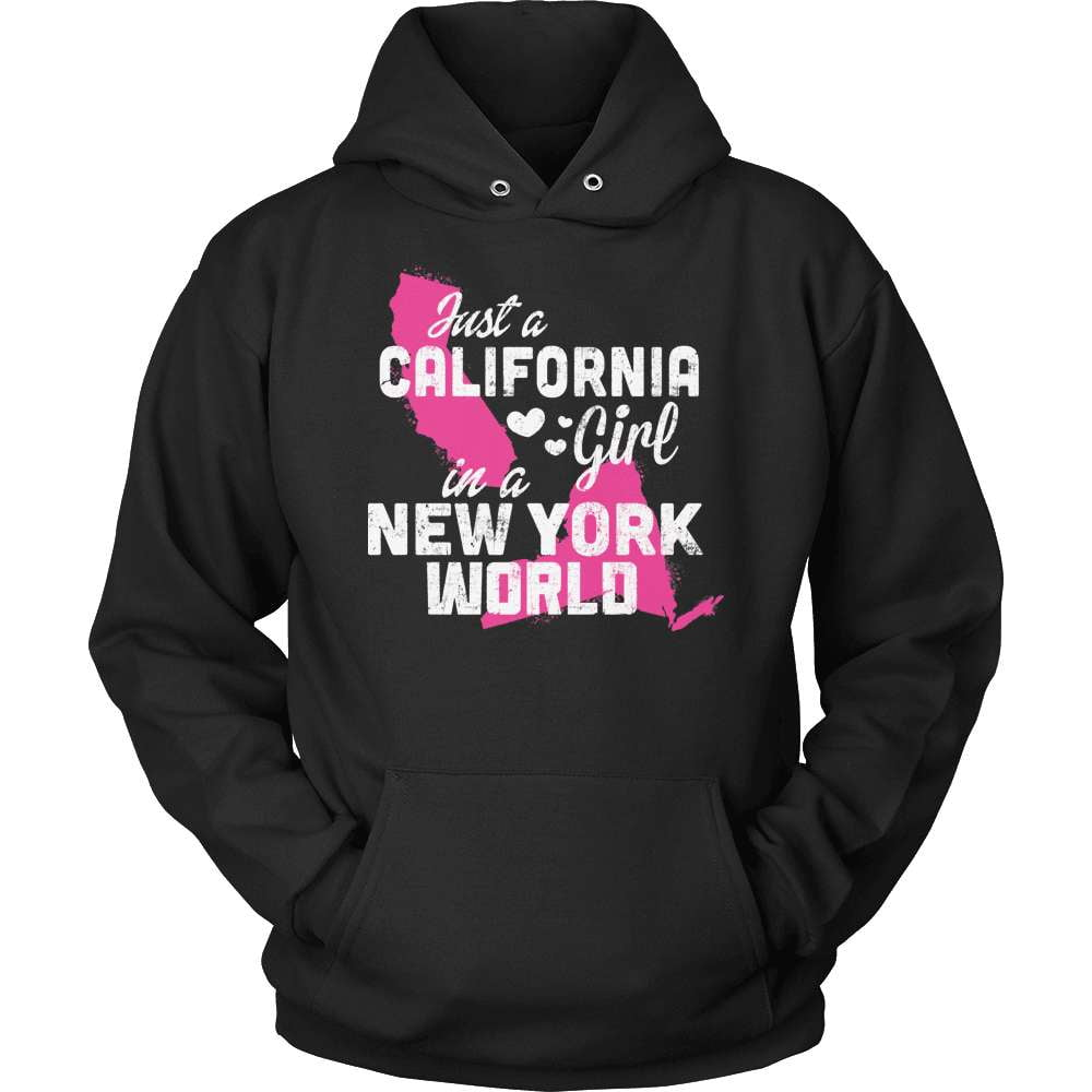 California T-Shirt Design - California Girl New York World