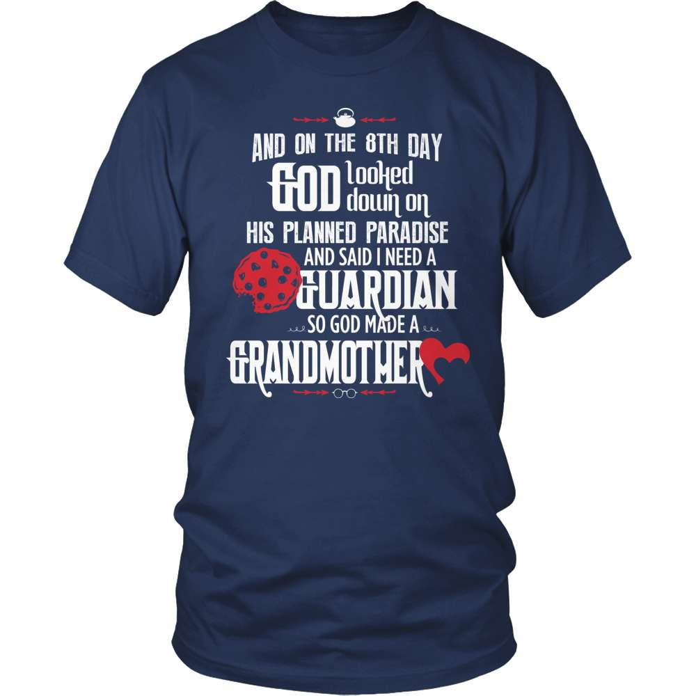 Grandparent T-Shirt Design - Guardian Grandmother