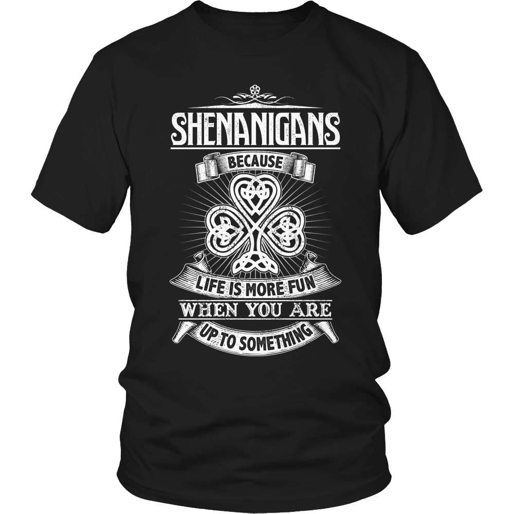 Irish T-Shirt Design - Shenanigans
