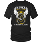 Fishing T-Shirt Design - Fishing Fanatic