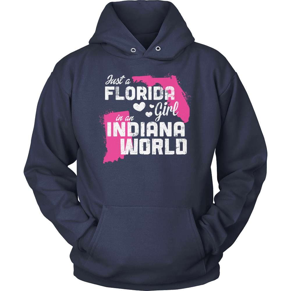 Florida T-Shirt Design - Florida Girl Indiana World