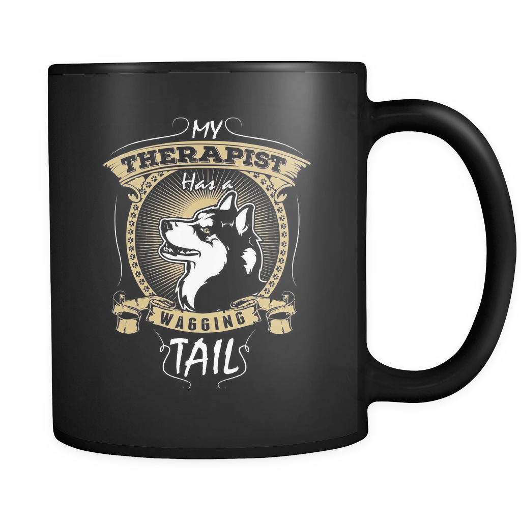 Husky Therapist - Luxury Mug