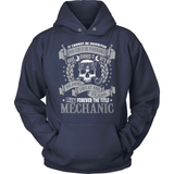 Mechanic T-Shirt Design - Forever Mechanic