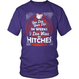 Oil Worker T-Shirt Design - Live Mine In Hitches!