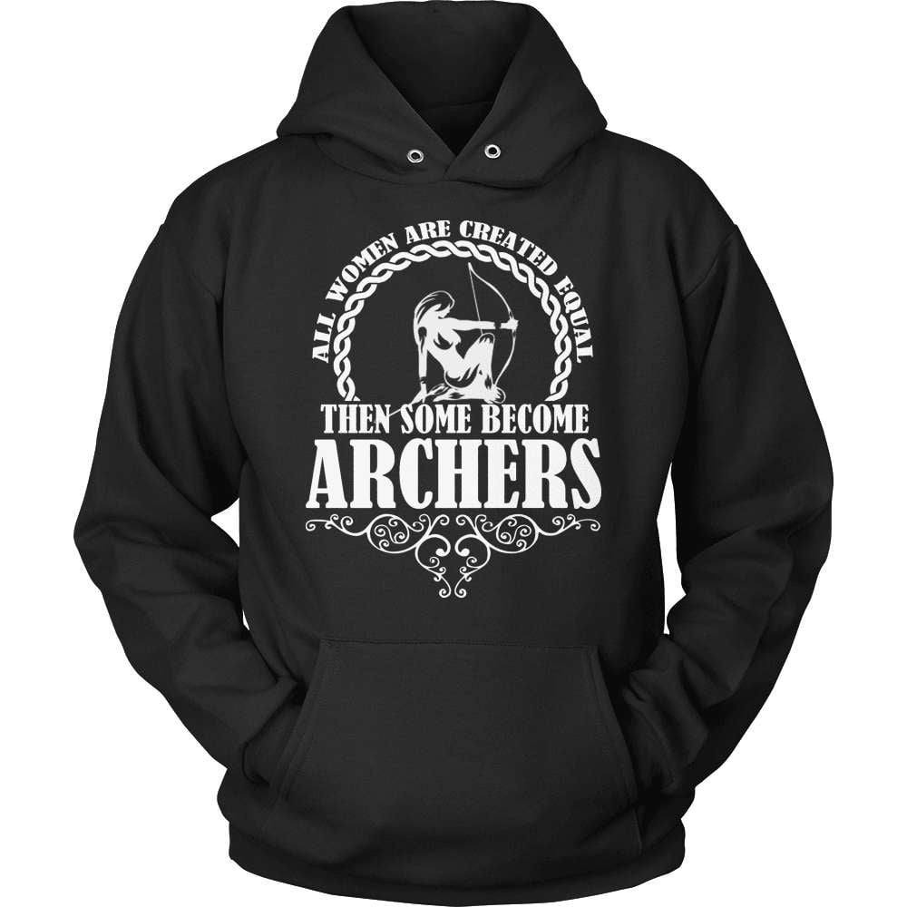 Archery T-Shirt Design - Some Become Archers - snazzyshirtz.com