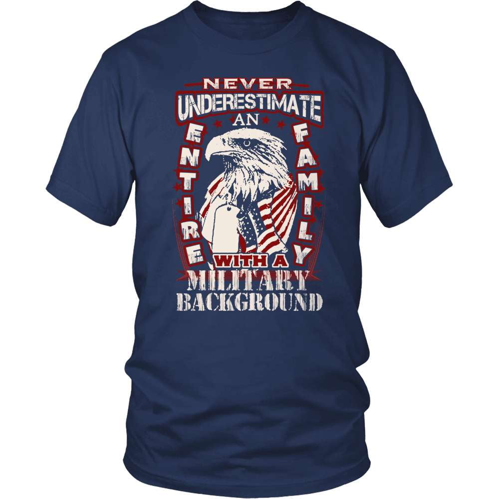 Veteran T-Shirt Design - Entire Family