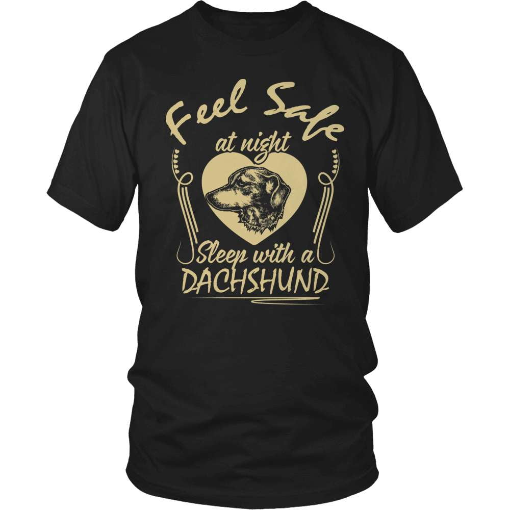 Dachshund T-Shirt Design - Feel Safe