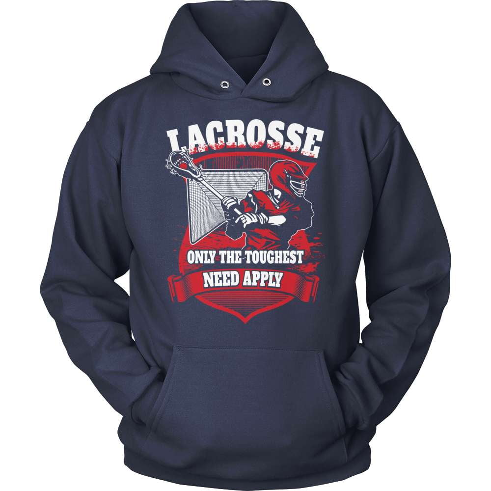 Lacrosse T-Shirt Design - Only The Toughest