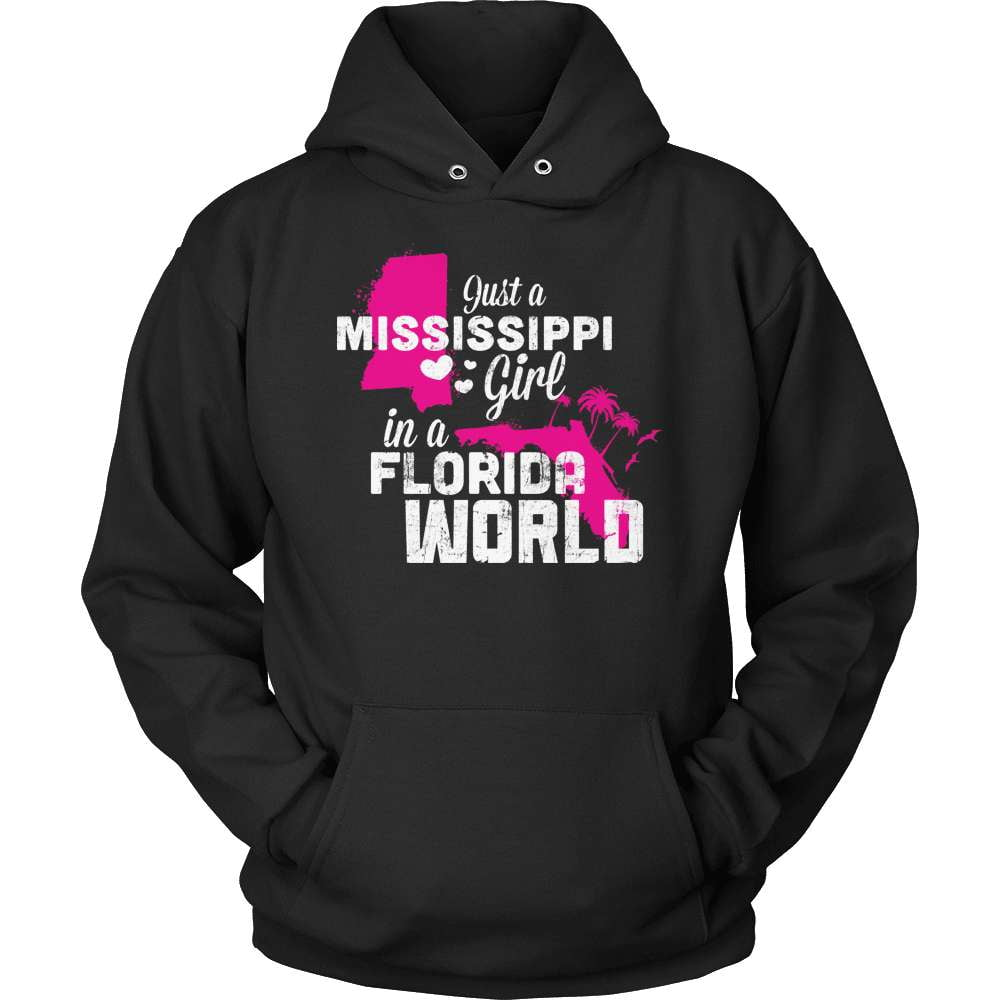 Mississippi T-Shirt Design - Mississippi Girl Florida World - snazzyshirtz.com