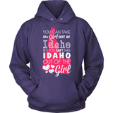 Idaho T-Shirt Design - Girl Out Of Idaho