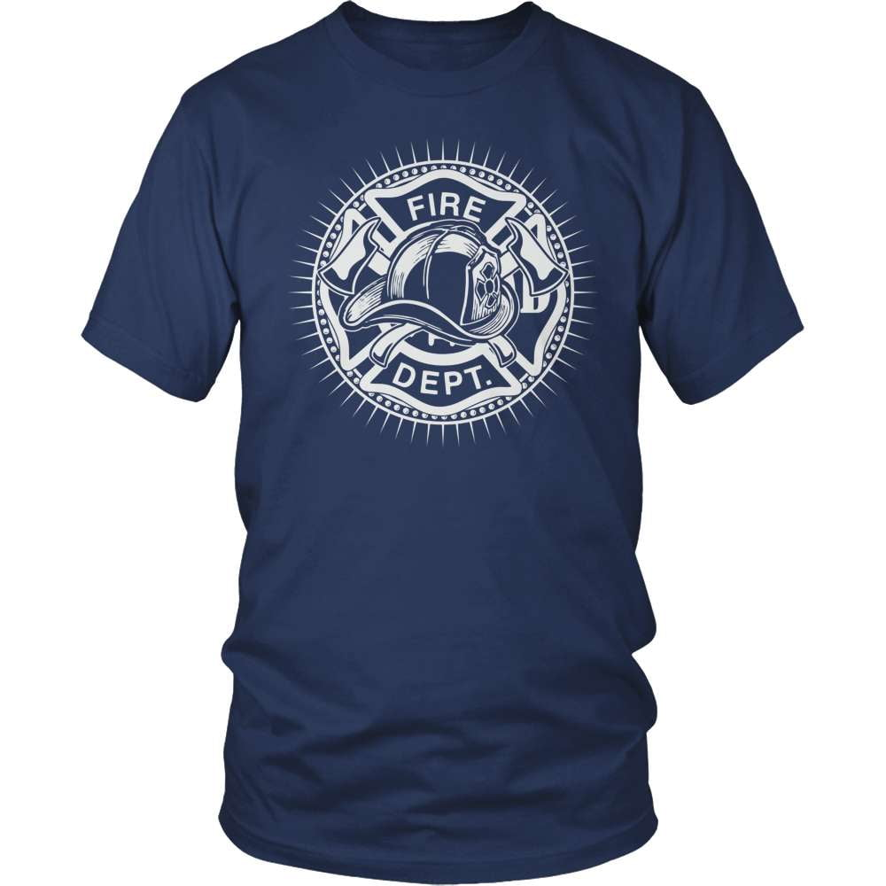 Firefighter T-Shirt Design - Fire Department