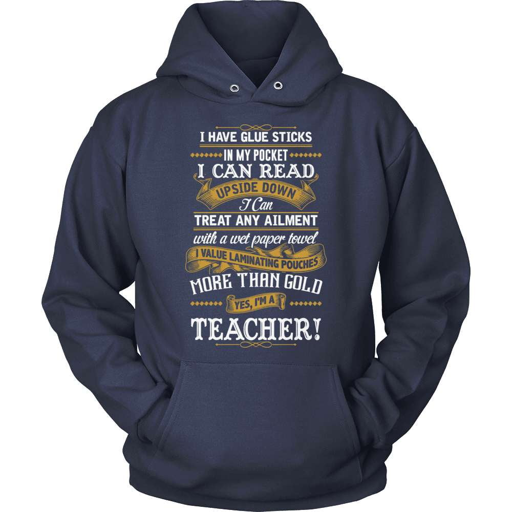 Teacher T-Shirt Design - Glue Sticks