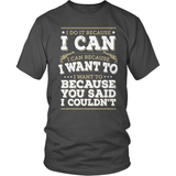 Country T-Shirt Design - I Do It