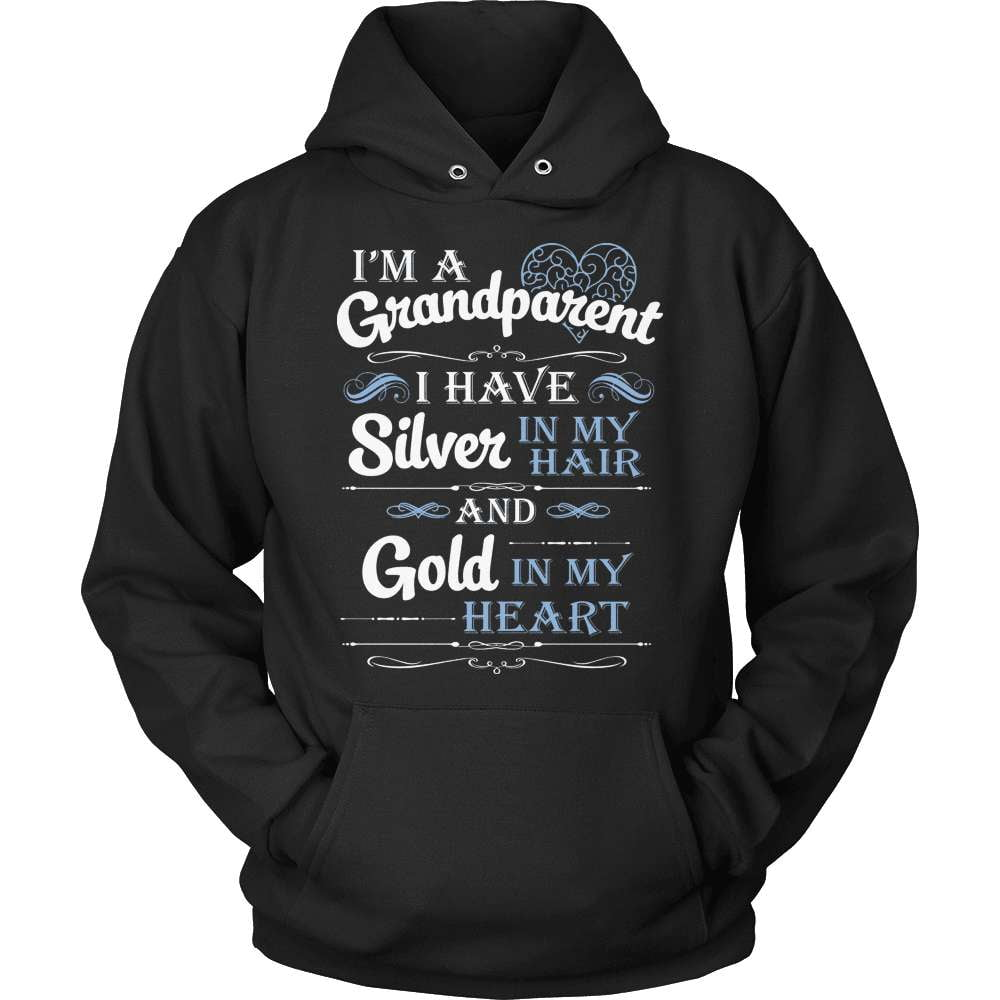 Grandparent T-Shirt Design - Silver In My Hair - snazzyshirtz.com