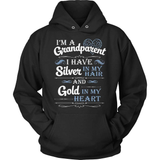 Grandparent T-Shirt Design - Silver In My Hair