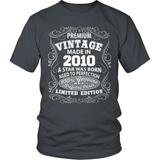 Birthday T-Shirt - Premium - 2010