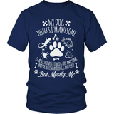 Dog T-Shirt Design - Awesome