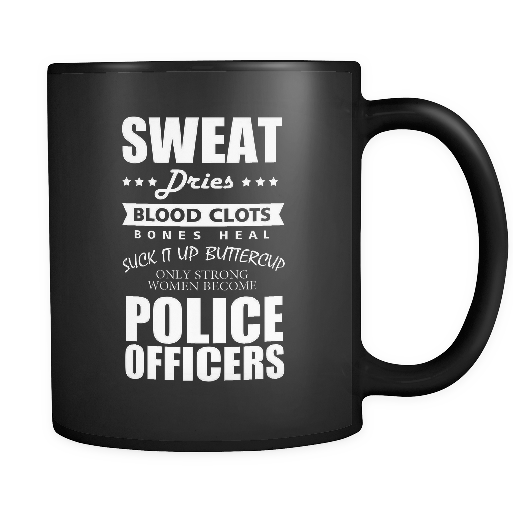 Only Strong Women - Law Enforcement Luxury Mug