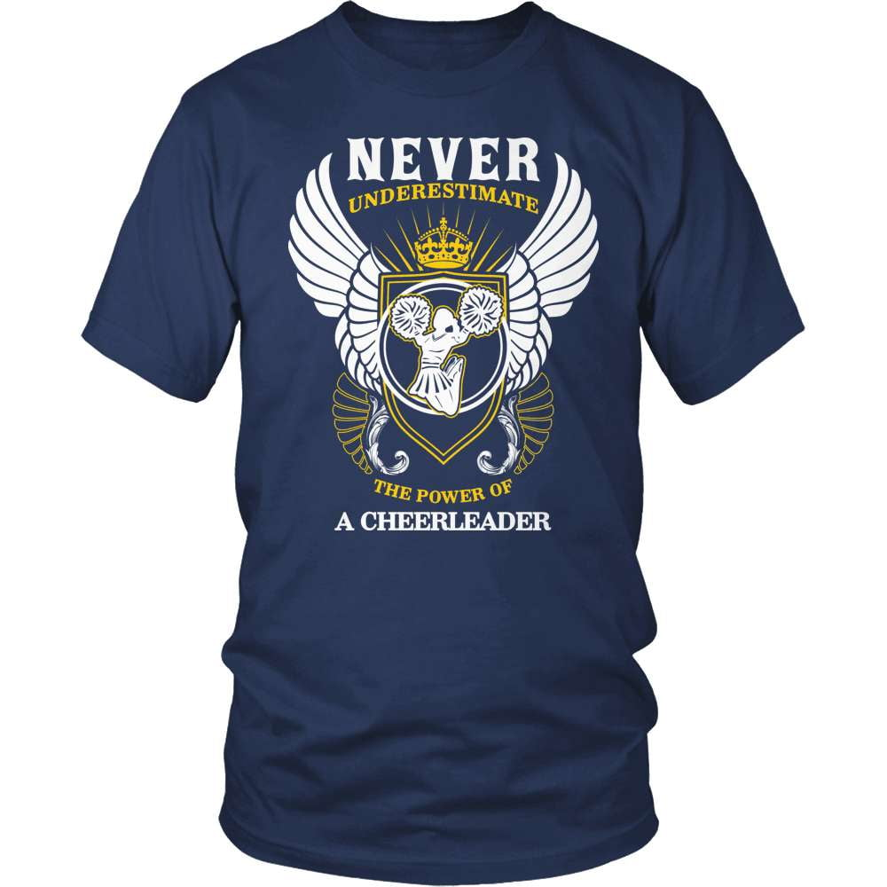 Cheerleader T-Shirt Design - The Power Of A Cheerleader