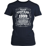 Birthday T-Shirt - Premium - 1999