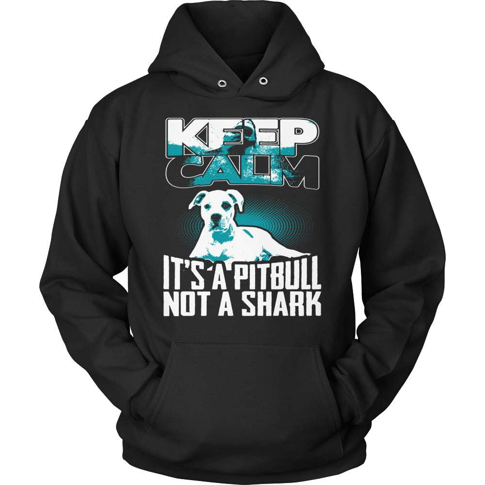 Pit Bull T-Shirt Design - Not A Shark! - snazzyshirtz.com