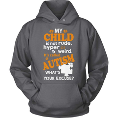 Autism T-Shirt Design - What's Your Excuse - snazzyshirtz.com