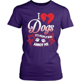 Dog T-Shirt Design - People Annoy me