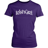 Irish T-Shirt Design - Irish Girl