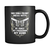 Don't Mess With My Guns - Luxury Mug
