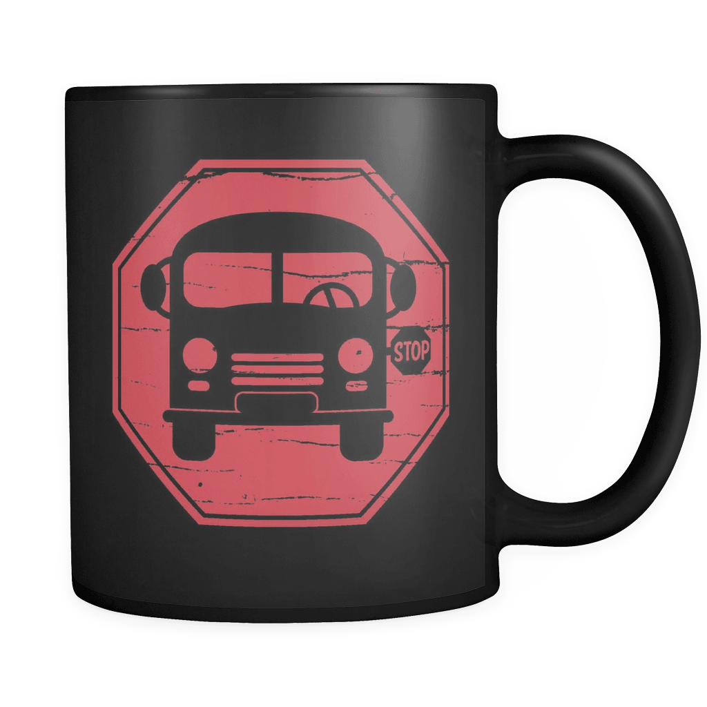 Stop! - Luxury School Bus Driver Mug