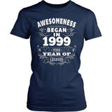 Birthday T-Shirt Design - Awesomeness - 1999