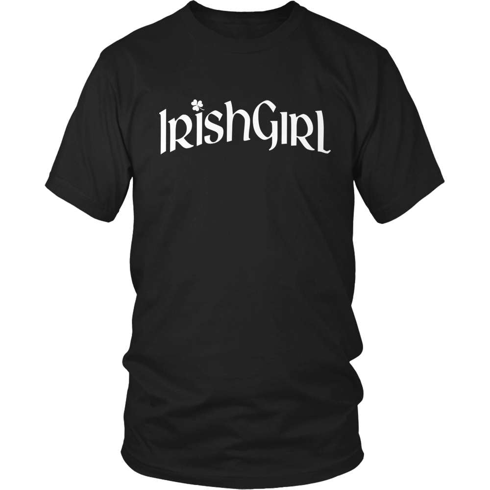 Irish T-Shirt Design - Irish Girl - snazzyshirtz.com