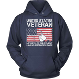 Veteran T-Shirt Design - My Oath Has No Expiration