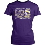 Teacher T-Shirt Design - I Hate Being Right But...