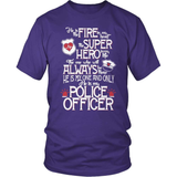 Police T-Shirt Design - He Is My Police Officer