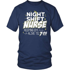 Nurse T-Shirt Design - Night Shift Nurse
