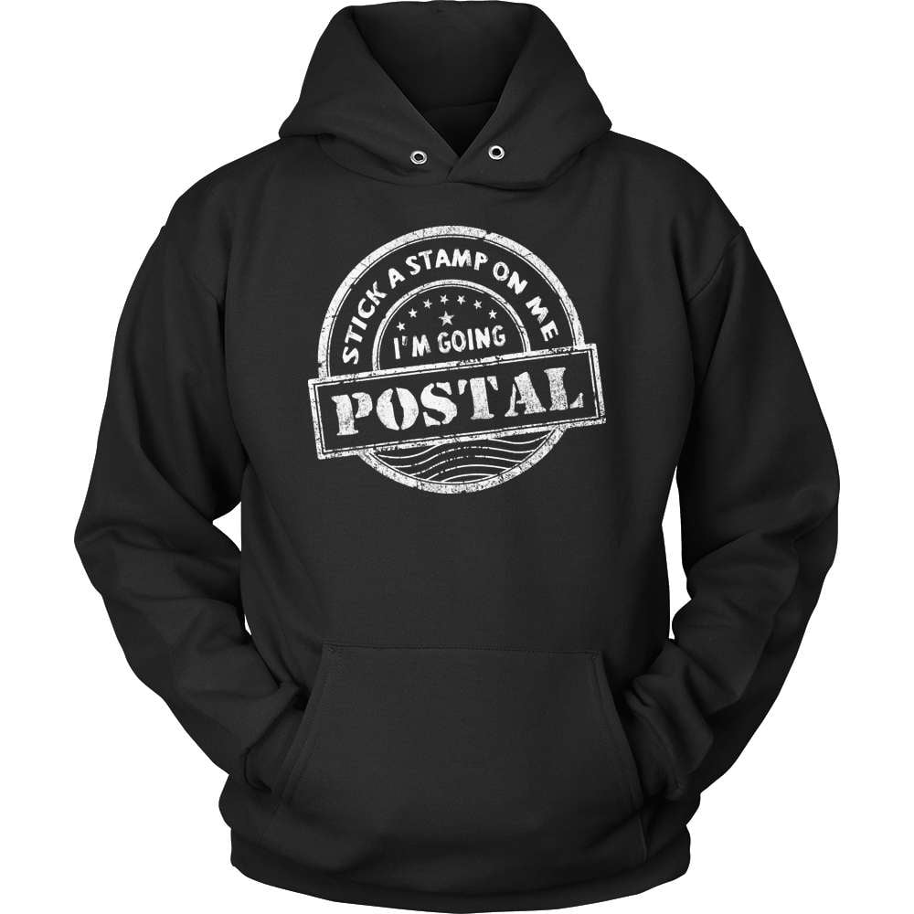 Mail Carrier T-Shirt Design - I'm Going Postal! - snazzyshirtz.com