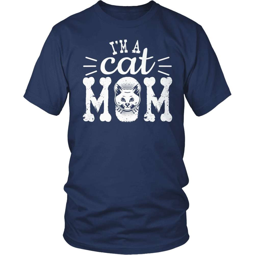 Cat shirt - I'm A Cat Mom - snazzyshirtz.com