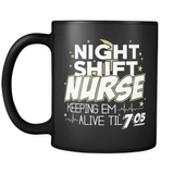 Night Shift Nurse - Luxury Mug