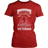 Veteran T-Shirt Design - Blood Sweat And Tears