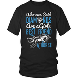 Horse T-Shirt Design - Girls Best Friend