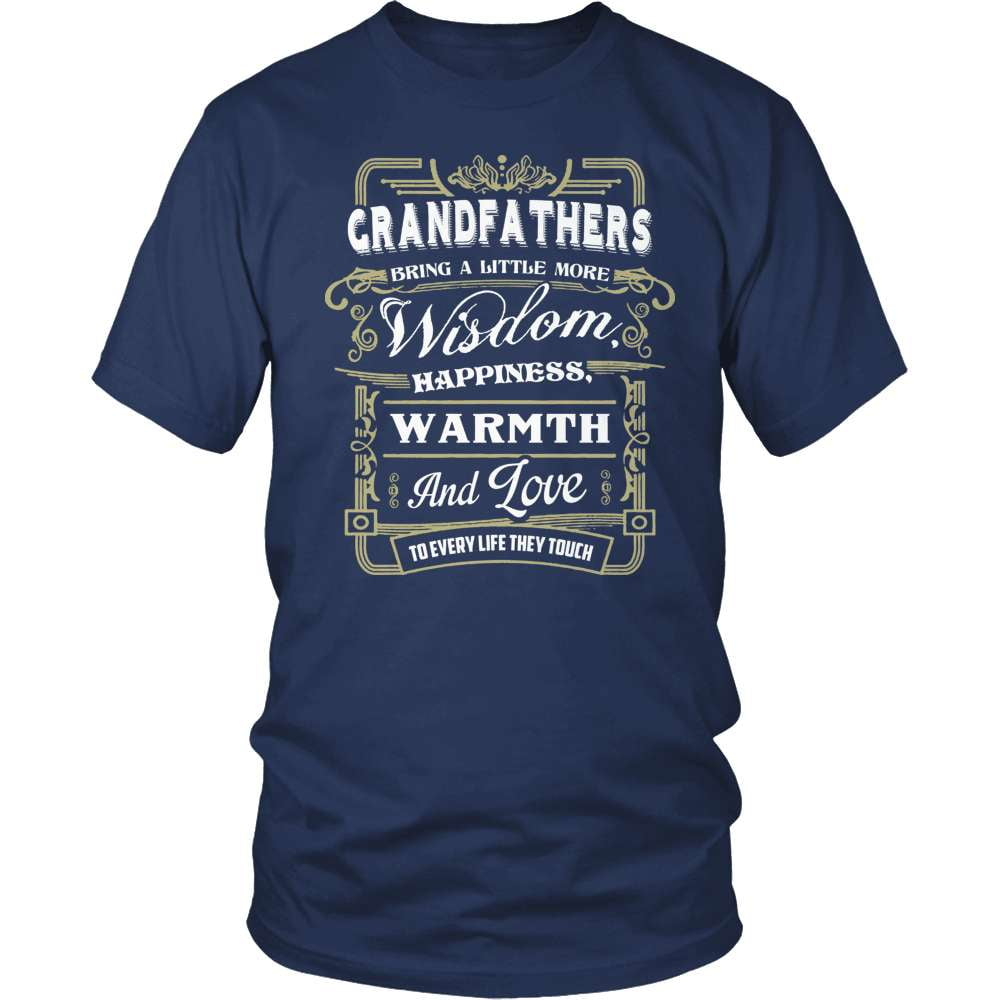 Grandparent T-Shirt Design - Grandfathers Wisdom