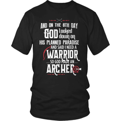 Archery Shirt - And On The 8th Day... - snazzyshirtz.com