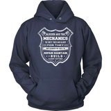 Mechanic T-Shirt Design - Blessed are the mechanics