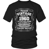 Birthday T-Shirt - Premium - 1960