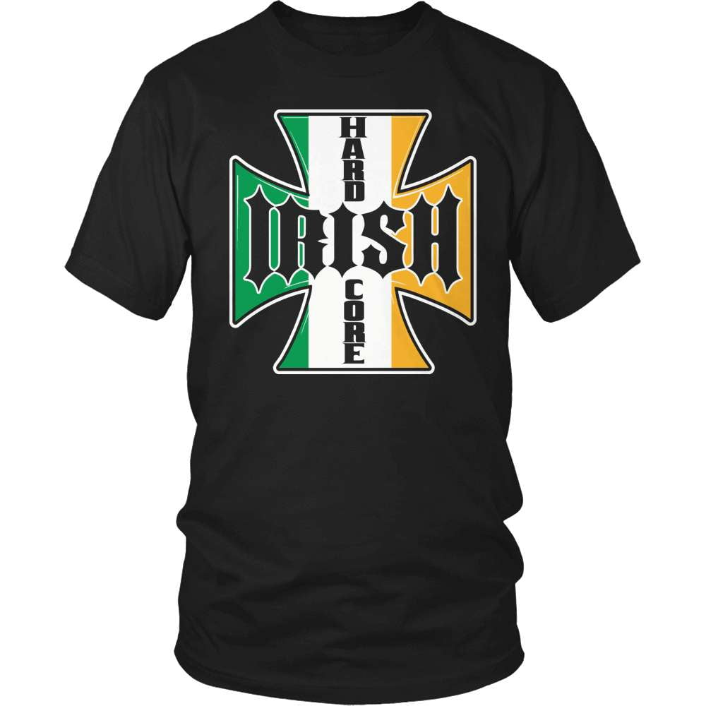 Irish T-Shirt Design - Hardcore Irish