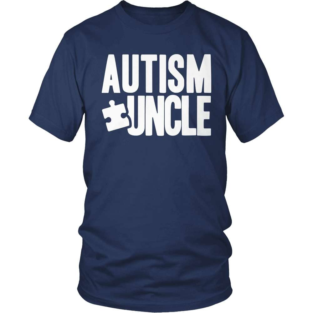 Autism Shirt - Uncle - snazzyshirtz.com