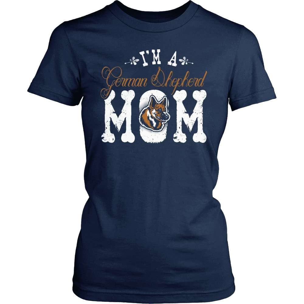 GSD T-Shirt Design - I'm A German Shepherd Mom