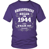 Birthday T-Shirt Design - Awesomeness - 1944